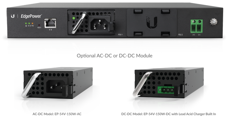 Optional AC-DC or DC-DC Module