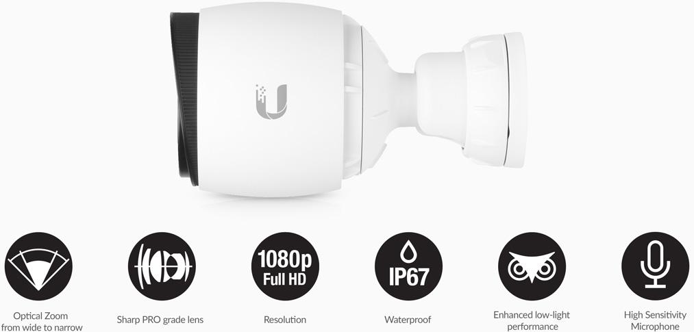 Ubiquiti UniFi Video Camera G3 Pro | NetWifiWorks com