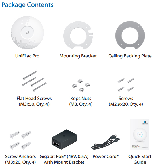 Ubiquiti UniFi Access Point AC Pro | NetWifiWorks com