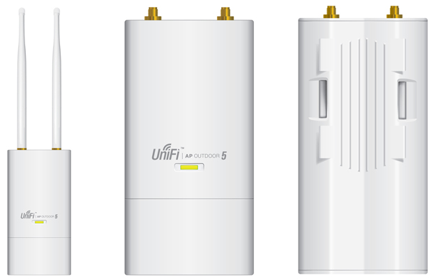 UniFi AP Outdoor 5G Front and Rear