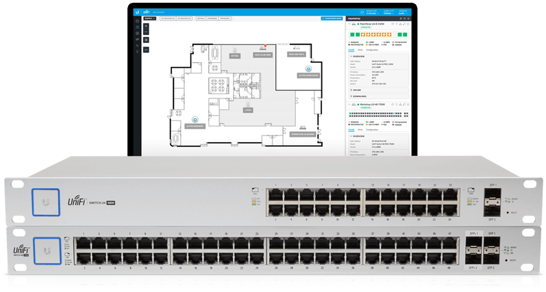 UniFi Switch software