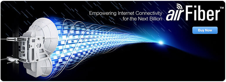 airFiber - Empowering Internet Connectivity for the Next Billion! Click here to buy now!